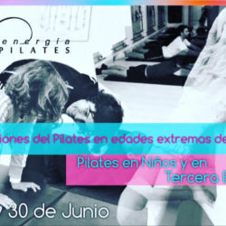 Pilates en niños y en tercera edad – 29 y 30 de junio 2019