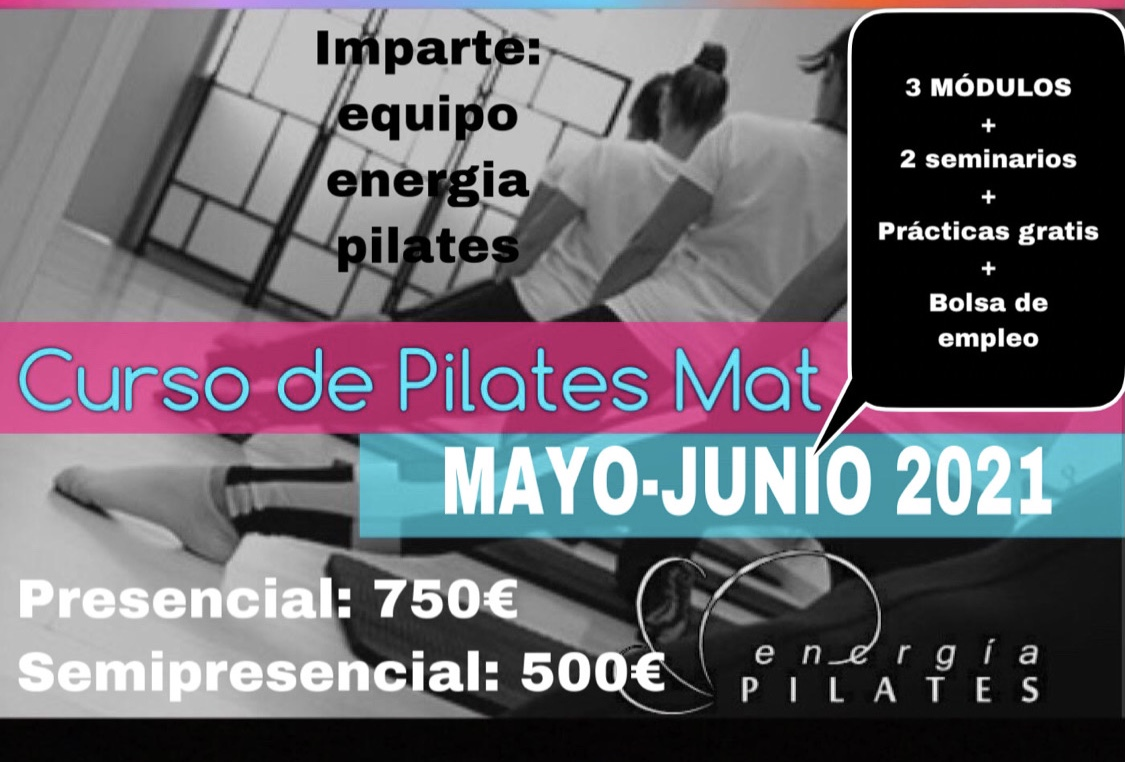 INSTRUCTOR MÉTODO PILATES MAT BASICO